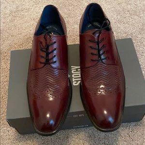 Burgundy Stacy Adams shoes like new